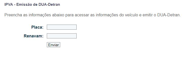 Consulta IPVA ES