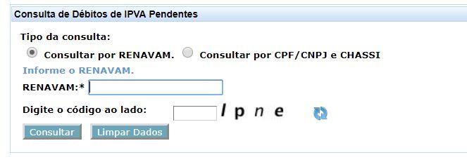 Consulta IPVA MA