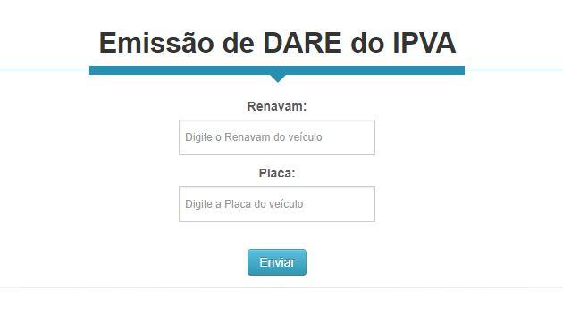 Consulta IPVA TO
